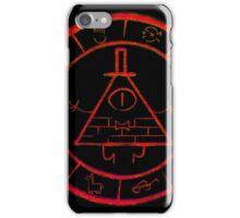 Bill Cipher Zodiac in Red iPhone Case/Skin