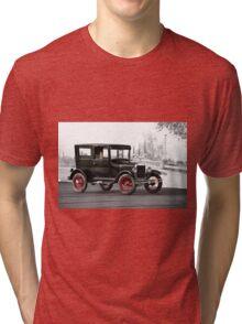 1927 Ford Tudor Sedan Tri-blend T-Shirt