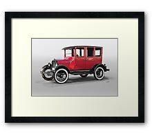 1927 Ford Model T Four Door Sedan  Framed Print
