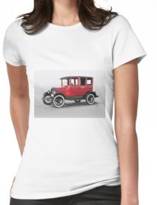 1927 Ford Model T Four Door Sedan  Womens Fitted T-Shirt