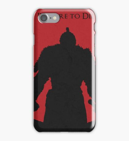 Prepare to die iPhone Case/Skin