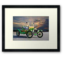 1914 Ford Model T Speedster 'Pass Side' Framed Print