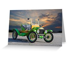 1914 Ford Model T Speedster 'Pass Side' Greeting Card