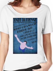 Andy Dufresne - The Shawshank Redemption Women's Relaxed Fit T-Shirt