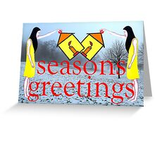 SEASONS GREETINGS 30 Greeting Card
