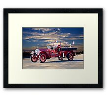 1921 American LaFrance Fire Engine Framed Print