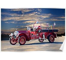 1921 American LaFrance Fire Engine Poster