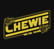 Chewie We're Home One Piece - Long Sleeve