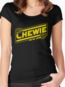 Chewie We're Home Women's Fitted Scoop T-Shirt