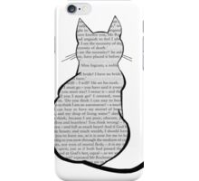 Cats and Jane Eyre iPhone Case/Skin