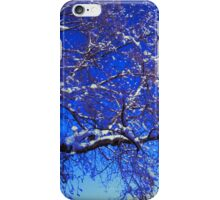 Snow on a Tree iPhone Case/Skin