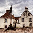 The Mercat Cross at Culross by Tom Gomez