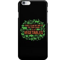 Food Chain [Points Of View] iPhone Case/Skin