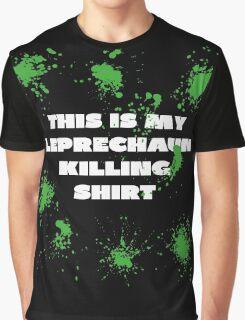 THIS IS MY LEPRECHAUN KILLING SHIRT Graphic T-Shirt