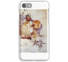 Joseph Crawhall - The Snake Charmer  iPhone Case/Skin