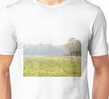 Misty autumn morning Unisex T-Shirt