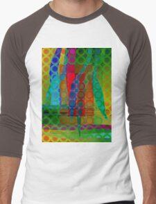 Green Garden Men's Baseball ¾ T-Shirt