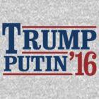 Trump Putin 2016 by popdesigner