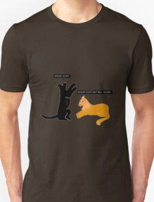 X-files Cats: Spooky stuff isn't real, Mulder Unisex T-Shirt