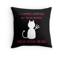 Inner Demon Throw Pillow