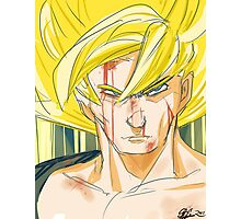 Super Saiyan Goku Photographic Print