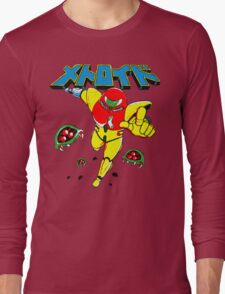 Metroid Japanese Promo Long Sleeve T-Shirt
