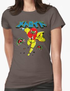 Metroid Japanese Promo Womens Fitted T-Shirt