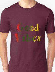 Good Vibes Funky font Unisex T-Shirt