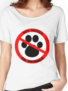 Not Tested on Animals Women's Relaxed Fit T-Shirt