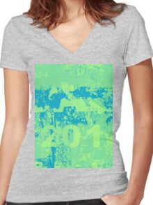 Do you mint? Women's Fitted V-Neck T-Shirt