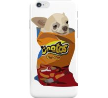 Chihuahua in a cheetos iPhone Case/Skin