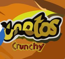 Chihuahua in a cheetos Sticker