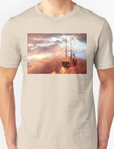 Neverland Ship (Colour) Unisex T-Shirt