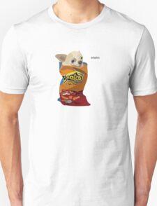Chihuahua in a cheetos Unisex T-Shirt
