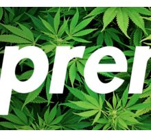 Supreme X Kush  Sticker
