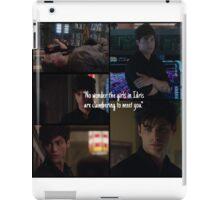 Alec Lightwood  iPad Case/Skin