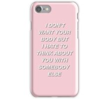 The 1975- Somebody Else iPhone Case/Skin