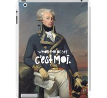 favorite fighting frenchman iPad Case/Skin
