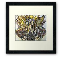Cactus Crown Framed Print