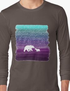 Bears from the Purple Dream Long Sleeve T-Shirt