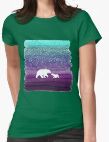 Bears from the Purple Dream Womens Fitted T-Shirt