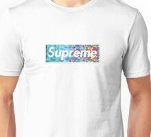 Supreme X Bape rainbow camo Unisex T-Shirt