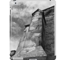 Phantasmagoria ~ Black & White Gothic Church Image  ~ St Mary's Church, Bagillt iPad Case/Skin