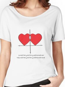 Two geek hearts  Women's Relaxed Fit T-Shirt