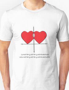 Two geek hearts  T-Shirt