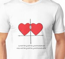 Two geek hearts  Unisex T-Shirt