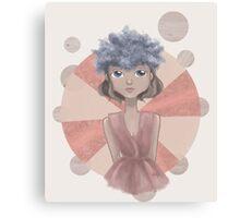 Flower Crown (Queenie II) Canvas Print