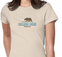 Hermosa Beach - California. Womens Fitted T-Shirt
