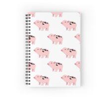 Pixel Pigs Spiral Notebook