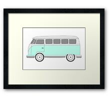 VW Bus Framed Print